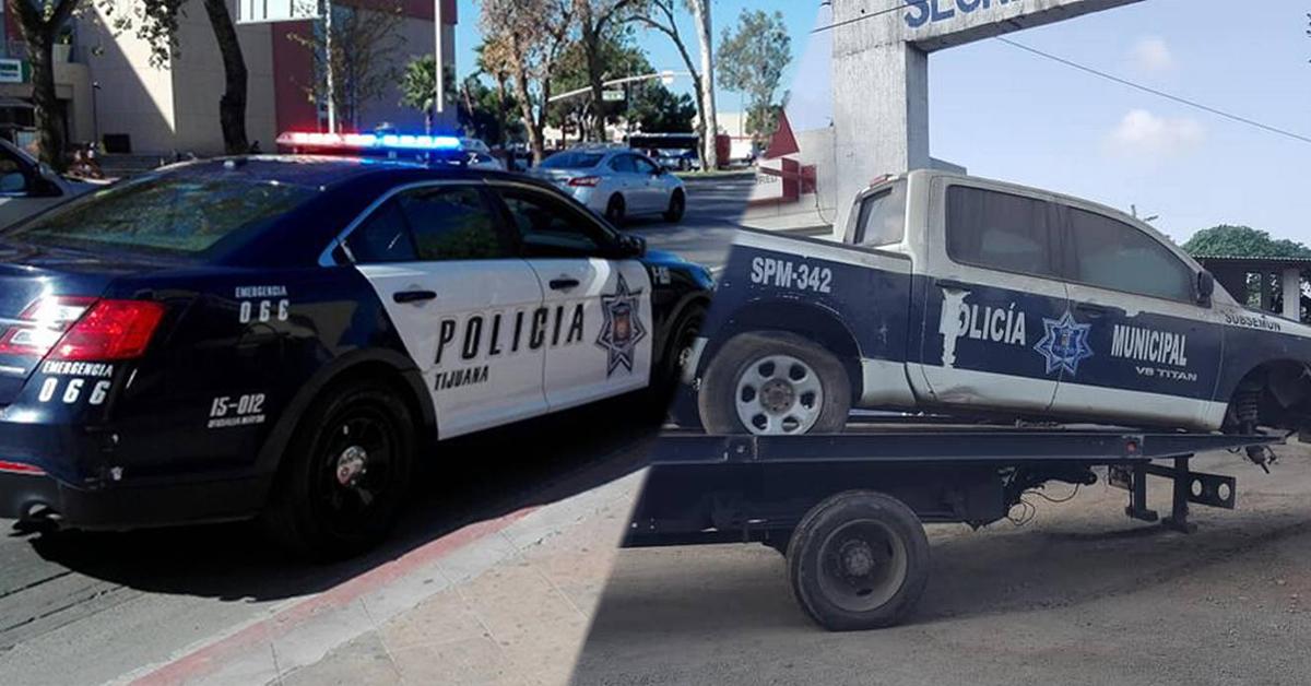 Resultado de imagen para patrullas de tijuana